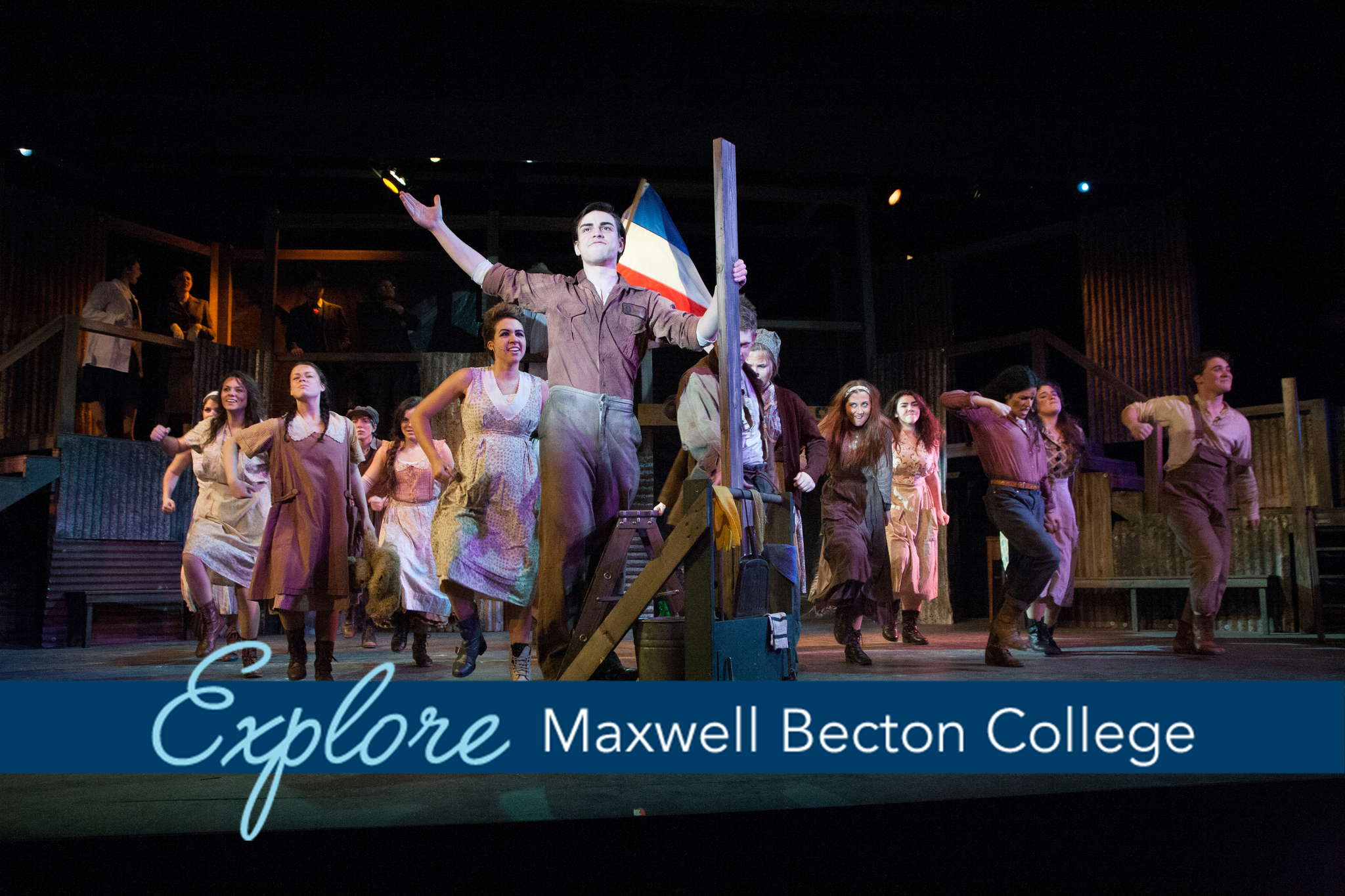 Maxwell_Becton_School_of_A_and_S_banner