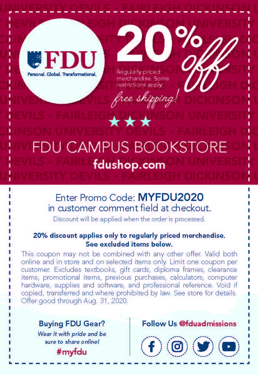 FDU_Generic_Bookstore_Coupon